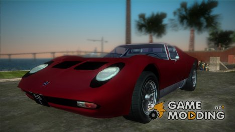 Lamborghini Miura for GTA Vice City