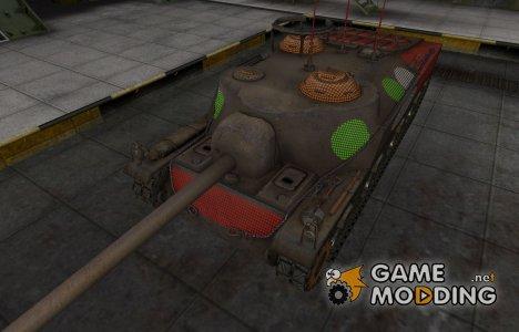 Зона пробития T28 for World of Tanks