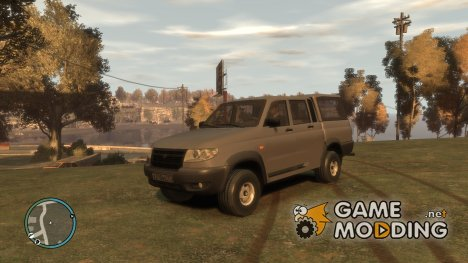 УАЗ Патриот Пикап для GTA 4