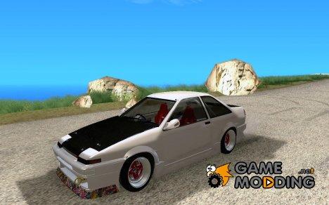 Toyota Corrola GTS JDM для GTA San Andreas