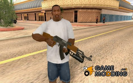 AK-47 with GP-25 for GTA San Andreas