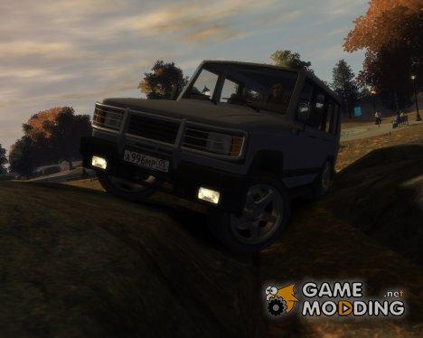 УАЗ 3170 для GTA 4