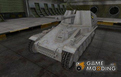 Мультяшный скин для Wespe для World of Tanks