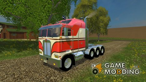 Kenworth K100 Cab Over для Farming Simulator 2015