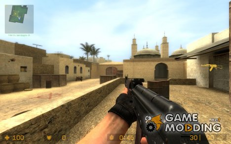 AKS-74 WildBill для Counter-Strike Source