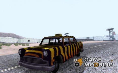 Zebra Cab из Vice City для GTA San Andreas