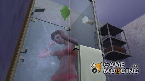 Быстрое принятие душа и ванной для Sims 4