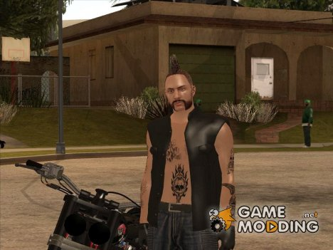 Biker from GTA Online v1 для GTA San Andreas