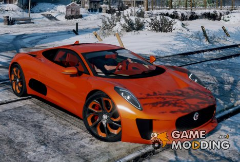 Jaguar C-X75  BETA for GTA 5