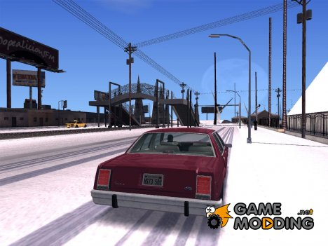 Зимний мод - Полная версия для GTA San Andreas