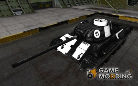 Зоны пробития T-34-1 for World of Tanks