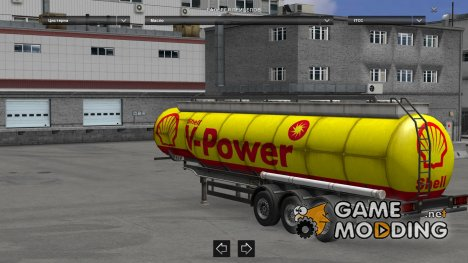 Trailers Pack Cistern Replaces для Euro Truck Simulator 2