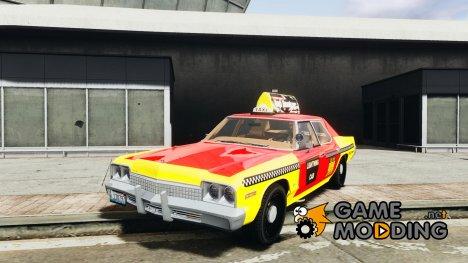 Dodge Monaco 1974 Taxi v1.0 для GTA 4