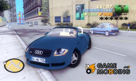 Audi TT Roadster for GTA 3