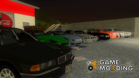 Пак машин BMW for GTA 3