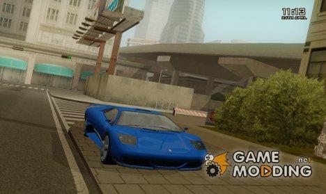 Сборник транспорта и оружие из игры GTA 4 - 5 for GTA San Andreas