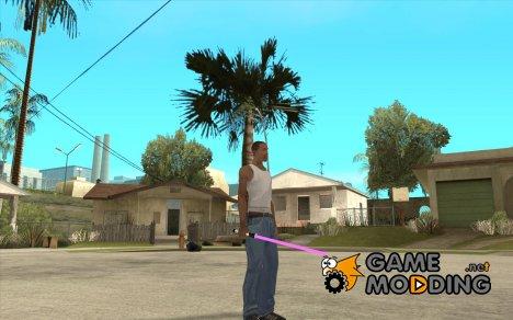 Lightsabre v2 Purple for GTA San Andreas