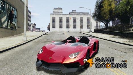 Lamborghini Aventador J для GTA 4