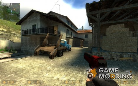 Havoc Red and Black deagle для Counter-Strike Source