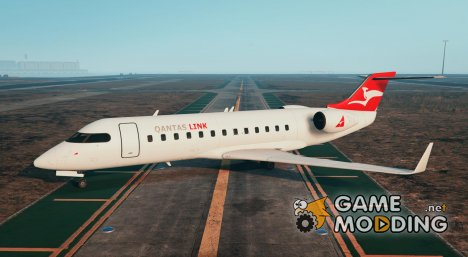 QANTAS Bombardier CRJ200 0.1a для GTA 5