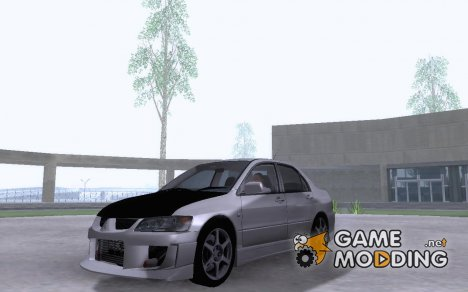Mitsubishi Evo 8 Easy Tuning for GTA San Andreas