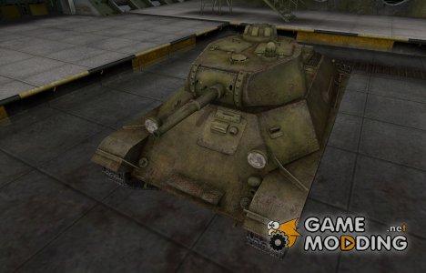 Шкурка для Т-50 в расскраске 4БО for World of Tanks