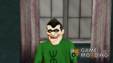 Маска Супер Героя (GTA Online) для GTA San Andreas