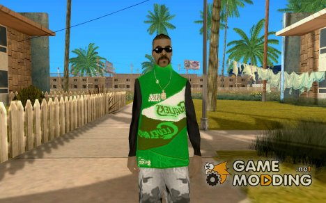 Новый бандит для GTA San Andreas