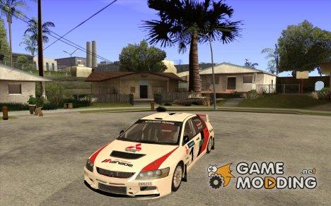 Mitsubishi Lancer Evo IX в новом виниле for GTA San Andreas