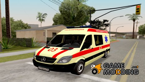 Mercedes-Benz Sprinter Radmir RP for GTA San Andreas