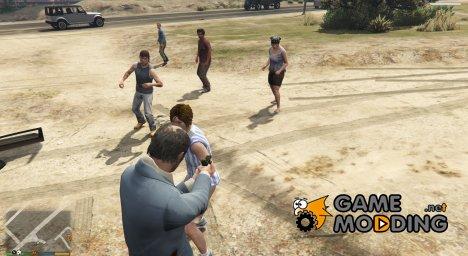 Враждебные педы for GTA 5