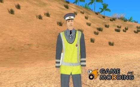 Policeman from Alone in the Dark 5 for GTA San Andreas