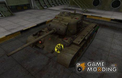 Качественные зоны пробития для M26 Pershing for World of Tanks