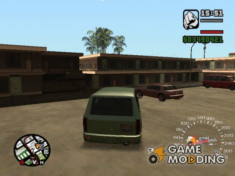 Gamemodding.net Speedometer для GTA San Andreas