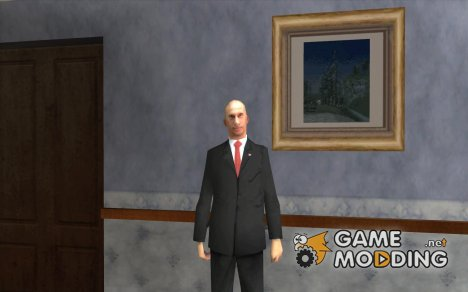 Владимир Владимирович Путин для GTA San Andreas