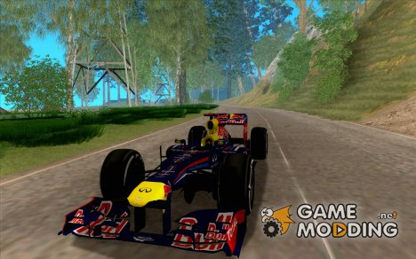 [DOUBLE]   Red Bull RB8 F1 2012 для GTA San Andreas