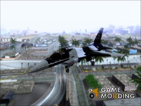F-16 Aggressor Squadron Alaska - Чёрный камуфляж для GTA San Andreas