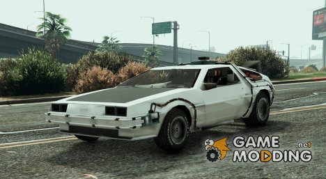 Back To The Future - Delorean Time Machine v0.1 для GTA 5