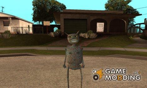 Инопланетянин V2 for GTA San Andreas