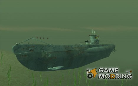 U99 German Submarine for GTA San Andreas