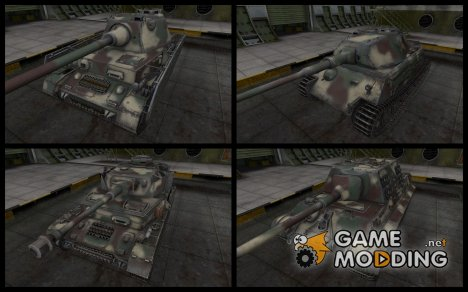 German Camouflage Pack для World of Tanks