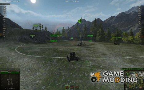 Снайперский и Аркадный прицелы WoT для World of Tanks