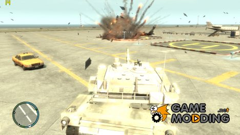 Скрипт Танк для GTA 4