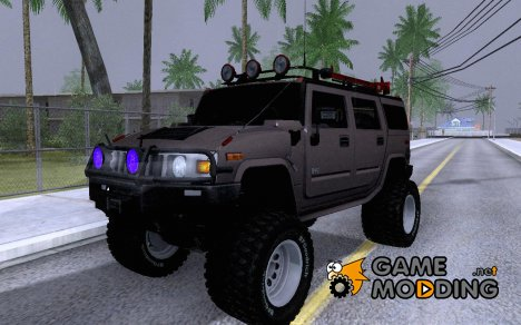 Hummer H2 Monster 4x4 for GTA San Andreas