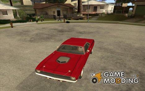 Plymouth Hemi Cuda 440 1970 из NFS PS for GTA San Andreas