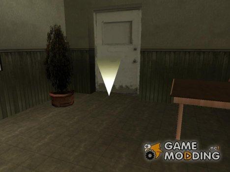 Подвал в доме CJ for GTA San Andreas