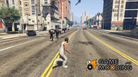 Unarmed Police v1.0 for GTA 5