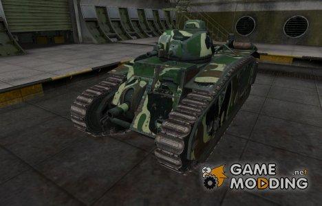 Скин с камуфляжем для B1 для World of Tanks