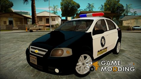 Chevrolet Aveo Police for GTA San Andreas