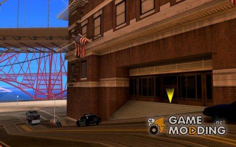 Вход в полицейскую зону в Сан Фиеро for GTA San Andreas